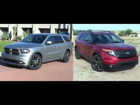 durango - Today we compare the 2014 Dodge Durango vs 2014 Ford Explorer.