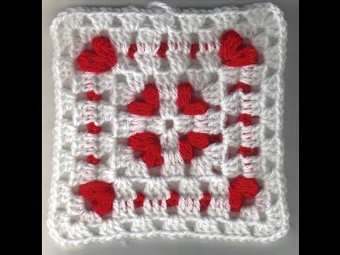 Cornered Hearts: Crochet Friendship Square Project 2011