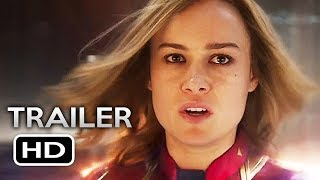 CAPTAIN MARVEL Official Trailer 2 (2019) Brie Larson Marvel Superhero Movie HD by Zero Media