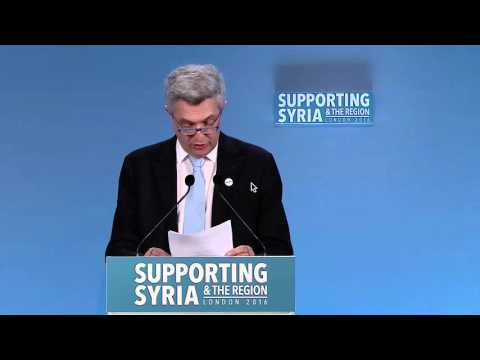 United Kingdom: High Commissioner calls for more funding for Syrian Refugees