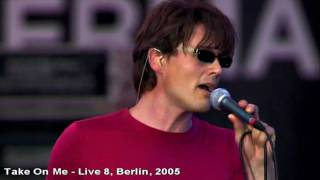 Download Lagu A-ha - Take On Me - Live 8, Berlin - 2005 [HD] Mp3