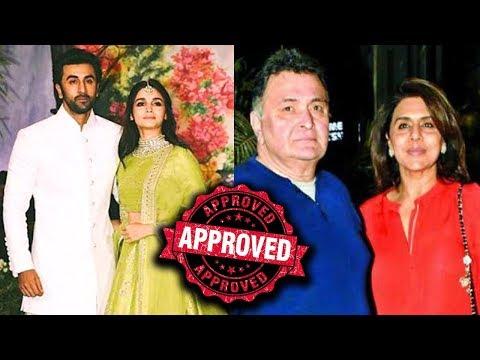 Rishi Kapoor And Neetu Kapoor Approve Of Alia Bhat