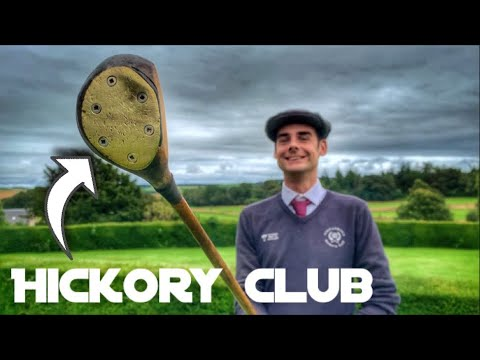 Golfing With 100 Year Old Clubs | Part 1 At Kingarrock Hickory Golf In St Andrews Scotland