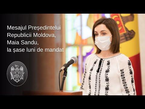 Președintele Maia Sandu a prezentat raportul de activitate pentru primele șase luni de mandat