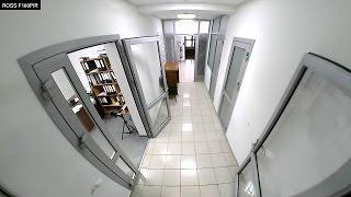 Видео. Тест записи IP видеокамеры с объективом Fish Eye, и WiFi модулем ROSS F180PIR