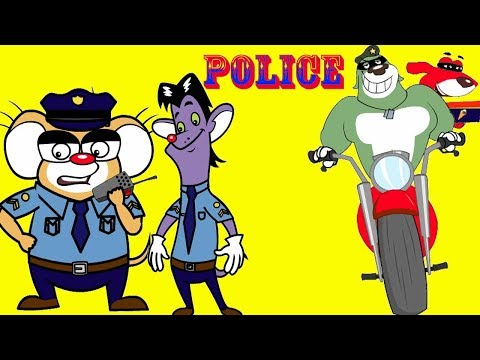 Rat-A-Tat |'Mice Police Chase & Ice cream Thieves Police Car #3'| Chotoonz Kids Funny Cartoon Videos