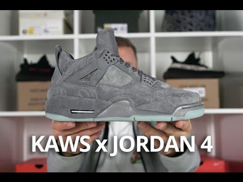 KAWS x Jordan 4 EARLY Look
