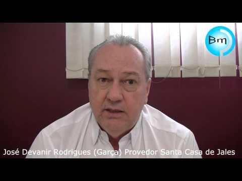 Jales - José Devanir Rodrigues (Garça) fala sobre a situação da Santa Casa.