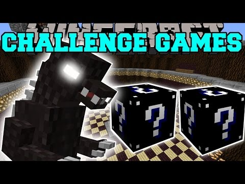 Minecraft: GODZILLA CHALLENGE GAMES – Lucky Block Mod – Modded Mini-Game