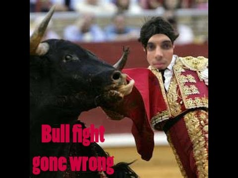 How to prank your friend!!!!!!!! Act like a bullfighter(GONE WRONG)