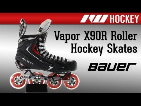 Bauer Vapor X90R Roller Hockey Skates Review
