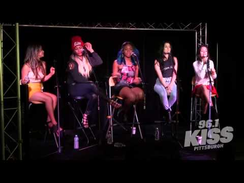 fifth - Fifth Harmony performing the acoustic version of ''Reflection'' at 96.1 KISS Pittsburgh. Enjoy!