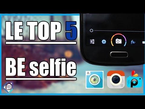 TOP 5 DES MEILLEURS APPLIS PHOTO SUR IOS ET ANDROID ! Selfie Selfies.