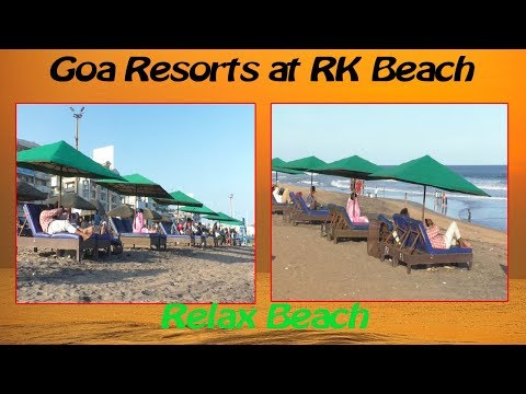 Relax Beach View Goa Resorts at RK Beach in Visakhapatnam,Vizagvision News...