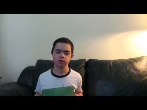 Watch video Joe (Grade 7) Speech about Making a Difference in  the World