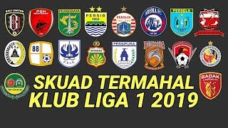 Download Video SKUAD TERMAHAL 18 KLUB KONTESTAN SHOPEE LIGA 1 2019 MP3 3GP MP4