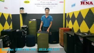 BOSE DK 3115 - Công Suất 600W, Bass 40cm Hàng Chính Hãng Bose