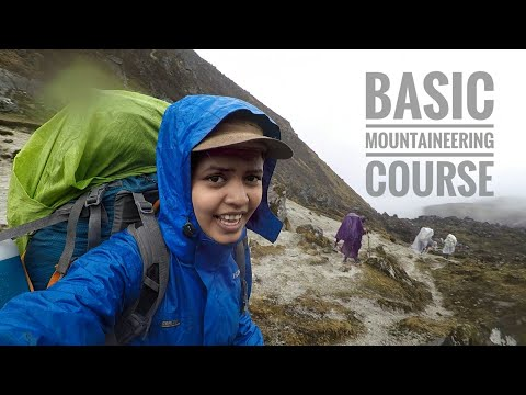Every Basic Mountaineering Course video EVER! | Himalayan Mountaineering Institute | Episode 1 (видео)