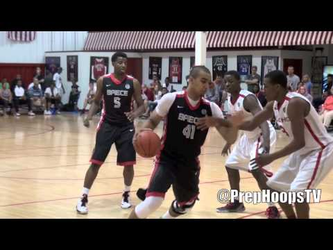 Kentucky Wildcat commit Trey Lyles 2014 Indianapolis Arsenal Tech at the Run-N-Slam Classic