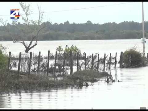 El río baja frente a Paysandú pero el Cecoed aconseja no retornar aún a los hogares