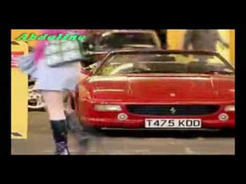 spectacular accident of Ferrari