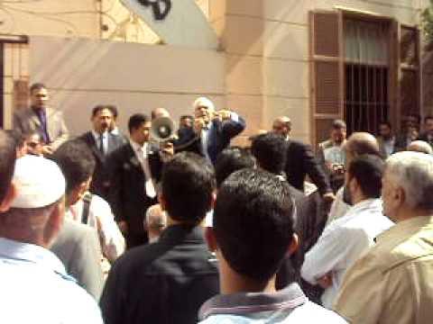 استمرار إضراب محامي القليوبية اعتراضاً على قانون السلطة القضائية