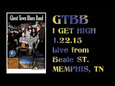 Ghost Town Biues Band CD Release