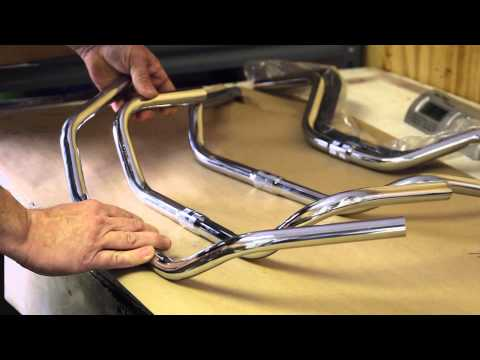 Wald 872 vs 867 Touring Handlebars - Made in USA - BikemanforU