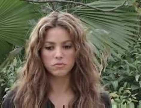 Shakira appeals for Bangladesh Video