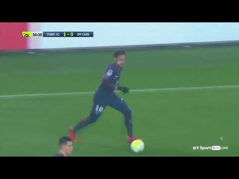 PSG vs Caen 3-1 - All Goals & Highlights - 20/12/2017 - 1080HD