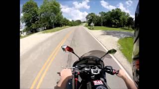 5. 2010 Kawasaki Ninja 650R | GoPro Helmet Cam