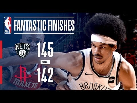 Video: The Nets and Rockets Engage In a Fantastic Finish | January 16, 2019