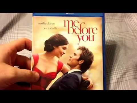Me Before You (2016) Bluray Unboxing!