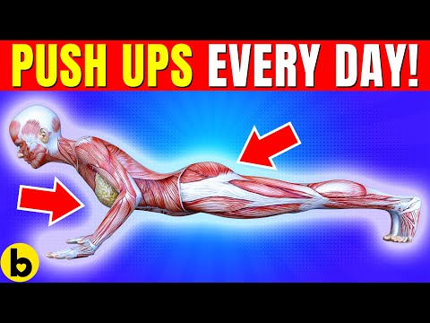Do Push Ups Every Day And See What Happens To Your Body