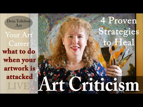 How to Handle Art Criticism, Rejection & Disappointment: LIVE Rebound & Thrive in Your Art Career