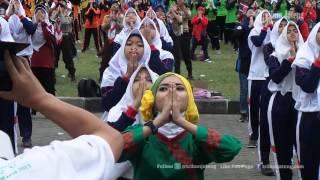 VIDEO Penampakan Senam Islam Nusantara Bersama Menpora Imam Nahrawi di Ambarawa