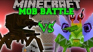 SPIT BUG VS SOLDIER BUG - Minecraft Mob Battles - Orespawn and Anti Plant Virus Mods