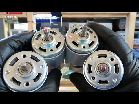 More about 775 DC motors. Do they work as a generator? How strong are they?