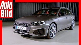 Audi A4 Facelift (2019): Neuvorstellung - Innenraum - Infos - Sitzprobe by Auto Bild