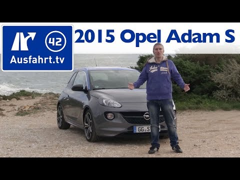 2015 OPEL Adam S – Fahrbericht der Probefahrt / Test / Review (German)