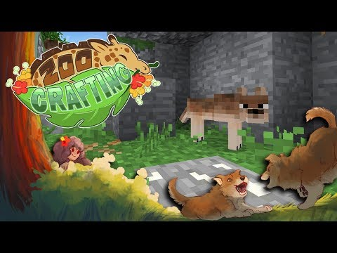 Expecting TWICE the Red Wolf Puppies?! 🐺🌲 Zoo Crafting: Redwolf Redwoods • #5