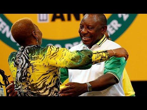 Ν.Αφρική: Ο Σίριλ Ραμαπόζα διάδοχος του Τζέικομπ Ζούμα στο Αφρικανικό Εθνικό Κογκρέσο…