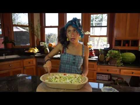 Salad - PLEASE SUBSCRIBE: http://www.youtube.com/subscription_center?add_user=officialrawvana Raw Vegan Potato Salad 1 head partially dehysrated cauliflower 2-3 hours at 118 degrees F 1 apple ...