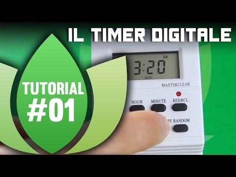 Tutorial Coltivazione Indoor: Timer Digitale, ecco come programmarlo