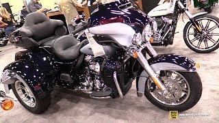 6. 2019 Harley Davidson Tri Glide Ultra - Walkaround - 2018 AIMExpo Las Vegas