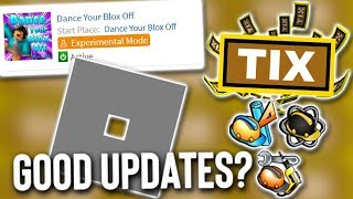 Do Good Roblox Updates Exist?