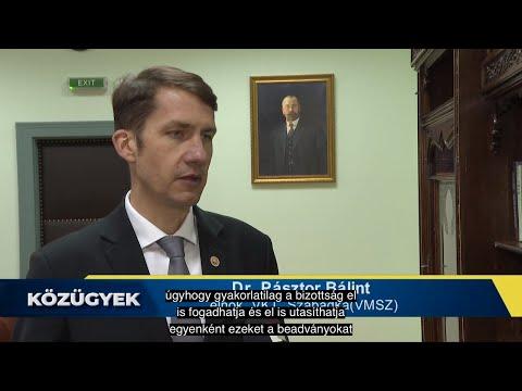Közügyek - Interjú dr. Pásztor Bálinttal, a szabadkai VKT elnökével-cover