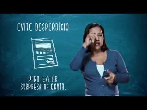 Campanha de Uso Racional de Energia - Libras - Apague a Luz - Eletrobras Distribuição Rondônia