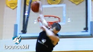 "New CRAZY Dunk By 6'1 Jordan Kilganon! ""Scorpion"" Dunk!"