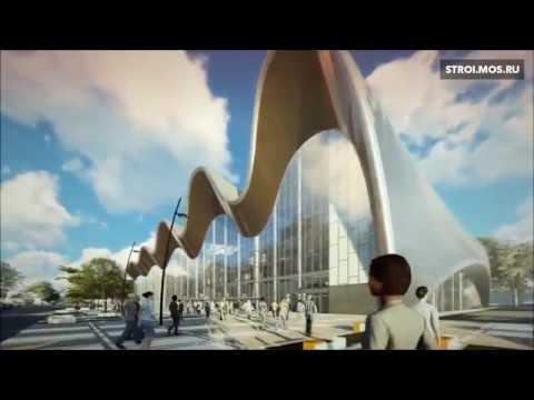 Как строится крупнейший встране Центр художественной гимнастики